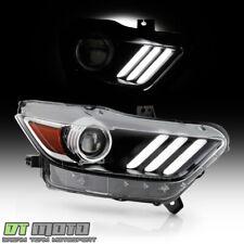2015-2017 Ford Mustang HID/Xenon LED Tube Projector Headlight Headlamp-Passenger