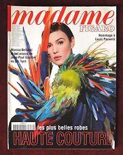 Madame Figaro Magazine ~ #651 February 1997 Haute Couture~ Monica Bellucci