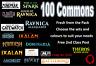 MTG Magic the Gathering 100 Commons Choose your set / colour Bulk Mint Job Lot