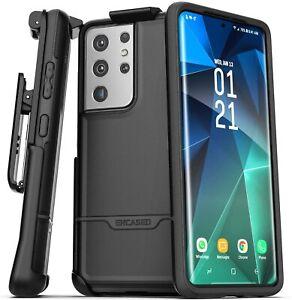 Encased Rebel Series Designed for Samsung Galaxy S21 Ultra Belt Clip Case...
