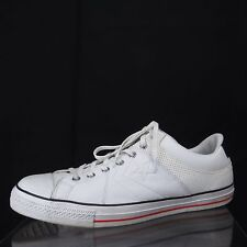 Unisex CONVERSE ALL STAR Player Rice White Sneakers Size Men's 16 / Women's 18