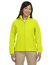 M990W Harriton Ladies'  Full-Zip Fleece Jacket Non-pill surface XS-3XL