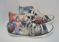 Converse Chuck Taylor All Star Hi Top DC Comics Superman Mens 9 Womens 11 (6314)