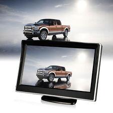 Waterproof 5'' LCD Monitor + Night Vision Rear Reverse Parking Backup Camera Kit