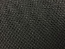 Black Marine PVC Vinyl Canvas Waterproof Upholstery Outdoor Fabric - BTY