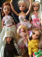 Vintage Sindy Ballerina Dolls Lot of 6! Hasbro, Debenhams, Zodiac -With Outfits!