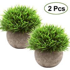 Retro Potted Bonsai Plant Ornaments Artificial Flower Fake Plants Desktop Decor