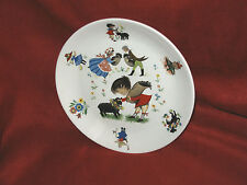 Vtg. James Kent by Old Foley England - Children's NURSERY RHYME plate