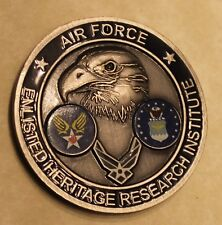 Enlisted Heritage Research Institute Air Force Challenge Coin