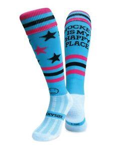 WackySox Hockey Socks - Hockey Is My Happy Place