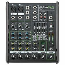Mackie Profx4v2 - 4 Channel Professional Effects Mixer