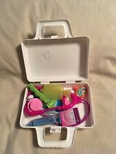 Nurse Doctors Medical Case Play Kit Set Childrens Medicine First Aid Box