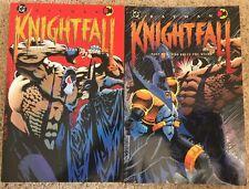 DC Batman Knightfall Part 1 & Part 2 Broken Bat, Who Rules The Night