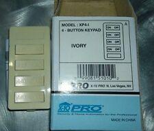 X10 PRO XP4A-W 4 button keypad, Ivory