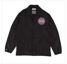 New Size XL Mitchell & Ness Detroit Pistons Black Coaches Jacket - 6388 A