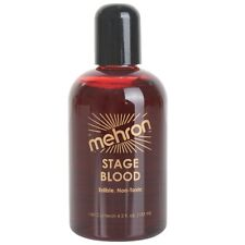 Mehron Stage Blood 133ml Vampire Dracula Special Effects Horror Fake Blood