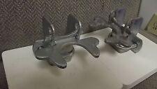"Dog Kennel Flip Latch for pen gate Pair Lockable Galvanized Pressed Steel 1 3/8"""
