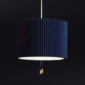 Nordic restaurant chandelier modern bedroom study bar cloth metal light lamp