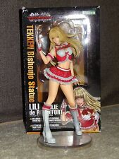 Kotobukiya Bishoujo Tekken Video Game Lili Emile De Rochefort PVC Statue Figure