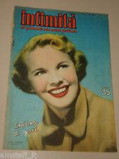 INTIMITA rivista 1951 n. 264 =MONA FREEMAN cover magazine =