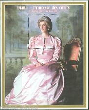 GUINEA  PRINCESS DIANA 1500 fr SOUVENIR SHEET  PERFORATED  MINT NH