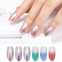 BORN PRETTY 6ml Thermal Color Changing Nail Polish Peel Off Glitter Nail Varnish