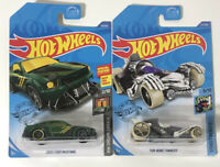 Hot Wheels Lot Of 2 Cars 2005 Ford Mustang And Tur-Bone Charged New In Box