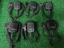 GE Ericsson OTTO Comm M-RK MRK MR-K UHF VHF Speaker Mic w/ear bug jack LOT 6