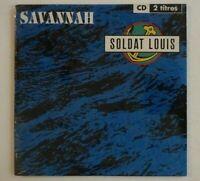 SOLDAT LOUIS : SAVANNAH / JUSTE UNE GIGUE EN DO ♦ CD Single NEUF / NEW ♦