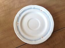 """MOONLIGHT STONEWARE GOOSE GEESE 6 1/4"""" SAUCER COLLECTIBLE THAILAND"""