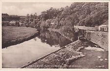 Allan Water From The Bridge, BRIDGE OF ALLAN, Stirlingshire