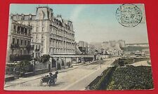 CPA CARTE POSTALE 1908 DIEPPE SEINE MARITIME HTE NORMANDIE HOTEL CHATEAU FIACRE