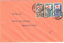 1951 Repubblica Ginnici su Busta non viaggiata Certificato Sorani 16/06/1951