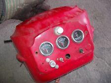 Massey Harris 33 Mh Tractor Original Dash Panel Holder With Gauges