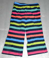 Circo Toddler Girls Striped Stretch Pants Leggings Cotton Blend 18 Months Pink