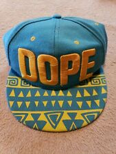 Vintage 9fifty New Era Dope Snapback Hat