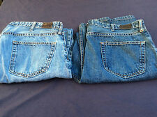 2 PAIRS of Lands End Jeans Traditional & Relaxed Fit Size 40 Measures 40x31 (N15