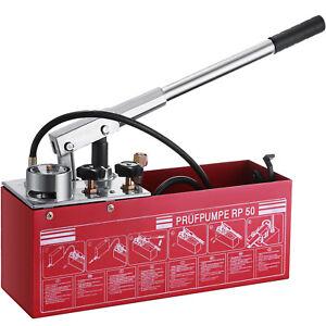Pompe d'essai de Pression (12L 50bar) Pompe d'epreuve de Pression pour Fuite