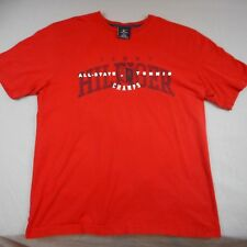 "Tommy Hilfiger S/S Graphic T-Shirt Sz Medium ,Red ""All State Tennis Champs"""