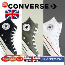 Converse All Star Mens Womens High Hi Tops Unisex Chuck Taylor Trainers Pumps UK
