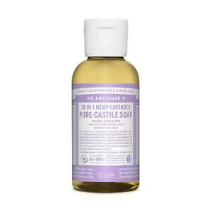 💚 Dr. Bronner Organic Lavender Pure-Castile Liquid Soap 60ml
