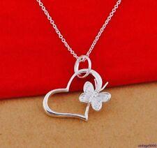 Modeschmuck-Halsketten & -Anhänger ohne Stein mit Herz-Beauty