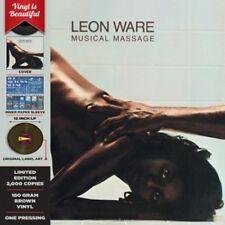 Leon Ware - Muscial Massage [New Vinyl] Brown, Colored Vinyl, 180 Gram