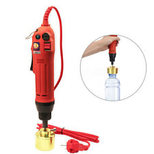 Electric Capping Machine Handle Manual Bottle Cap Sealer Sealing Tool 110V/220V