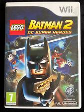 JEU NINTENDO WII LEGO BATMAN 2 DC SUPER HEROES, VF A PARTIR DE 7 ANS