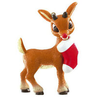 Carlton American Greetings Ornament 2011 Rudolph with Stocking - #AGOR113Z