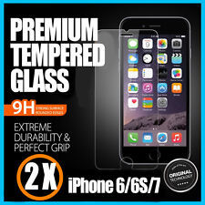 2 X Tempered Glass Screen 9H Film Protector for Apple iPhone 6 6S 7 8 4.7""
