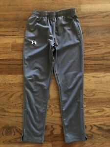 Under Armour Boys/Youth Jogger Pants Size Large Gray