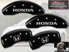 "2008-2012 ""Honda"" Accord EX EX-L V6 Front Rear Black MGP Brake Caliper Cover ""H"""