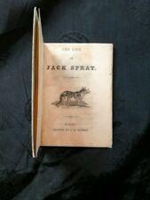 The Life of Jack Sprat (Banbury, c.1840) miniature provincial imprint